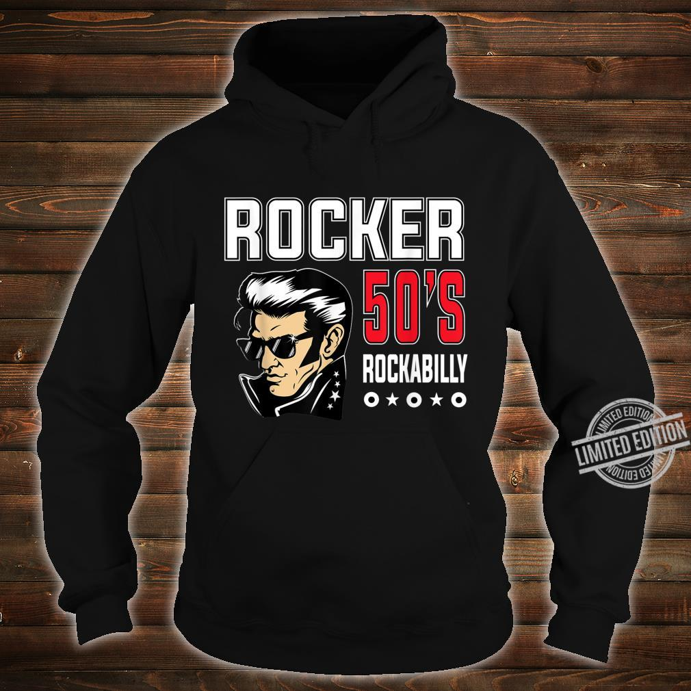 1950s Sock Hop Dance Rockabilly Retro 50s Costume Greaser Shirt hoodie