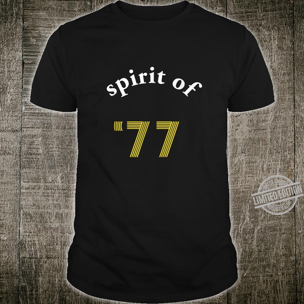 1977 Awesome Punk Rock Spirit of '77 Shirt