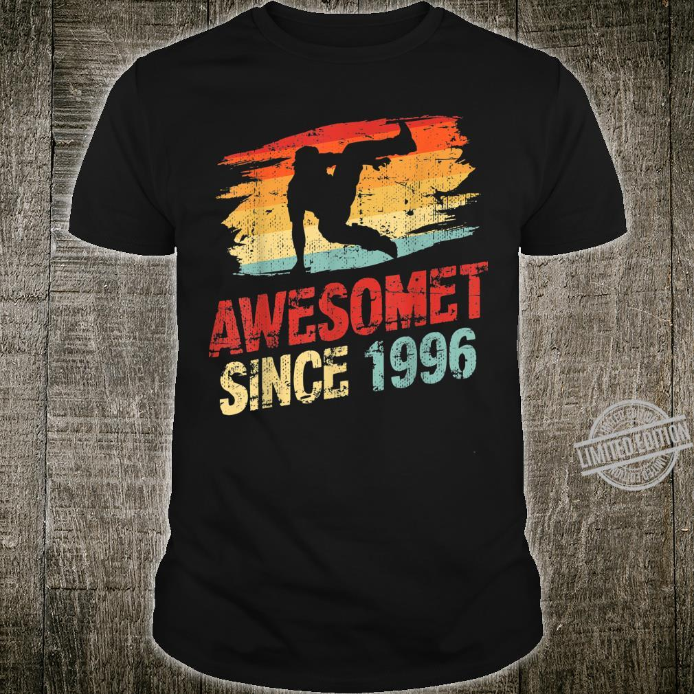 24 Year Old Birthday Parkour Tracer Retro Vintage Shirt