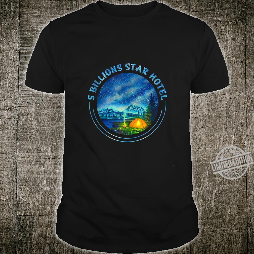 5 Billions Star Hotel Awesome Camping Shirt