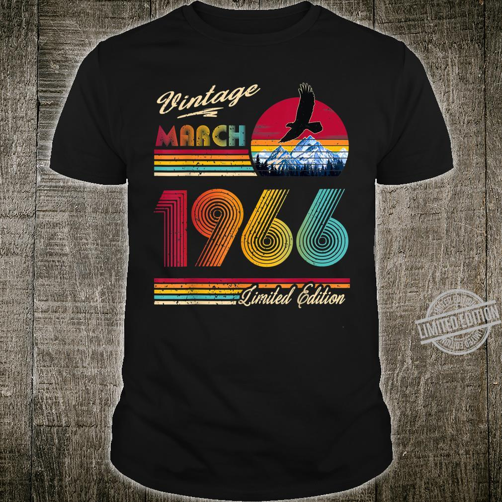 54 Years Old 54th Birthday March 1966 Shirt