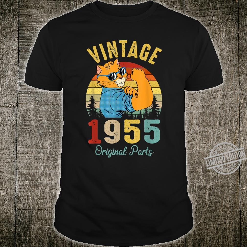 65 Years Old Made In 1955 Vintage 65Th Birthday Shirt
