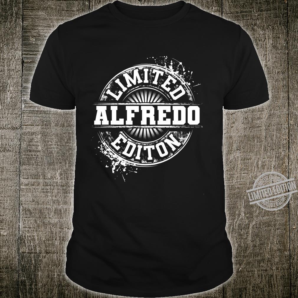 ALFREDO Limited Edition Personalized Name Joke Shirt
