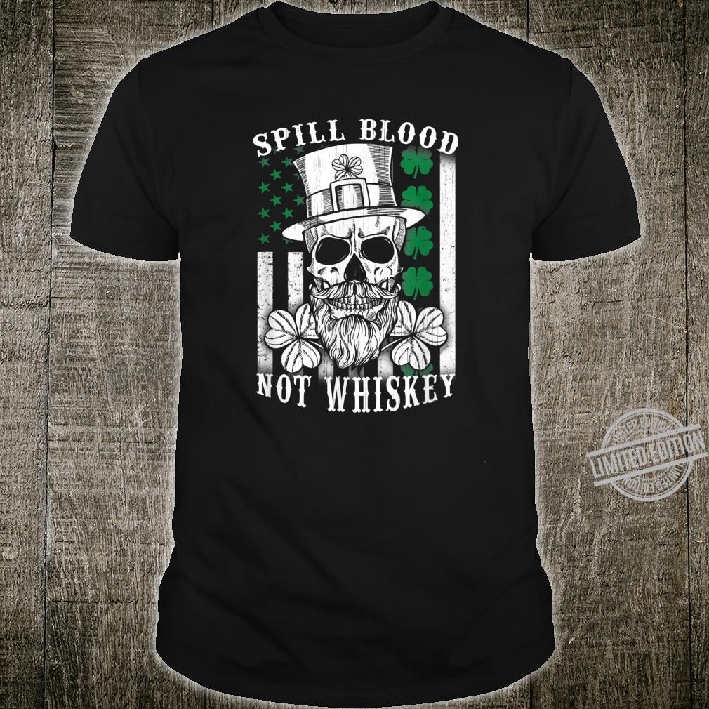 American Irish Flag Whiskey Pub Drinking Shirt