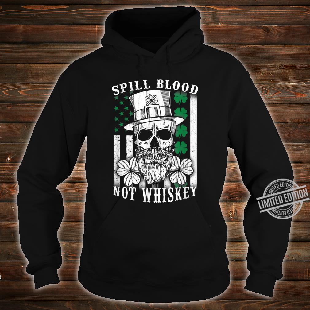 American Irish Flag Whiskey Pub Drinking Shirt hoodie