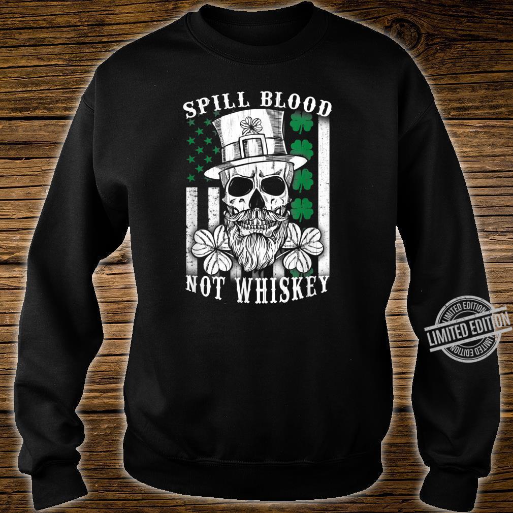 American Irish Flag Whiskey Pub Drinking Shirt sweater