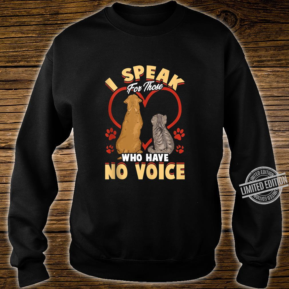 Animal Love Speak For Cats and Dogs Shirt sweater