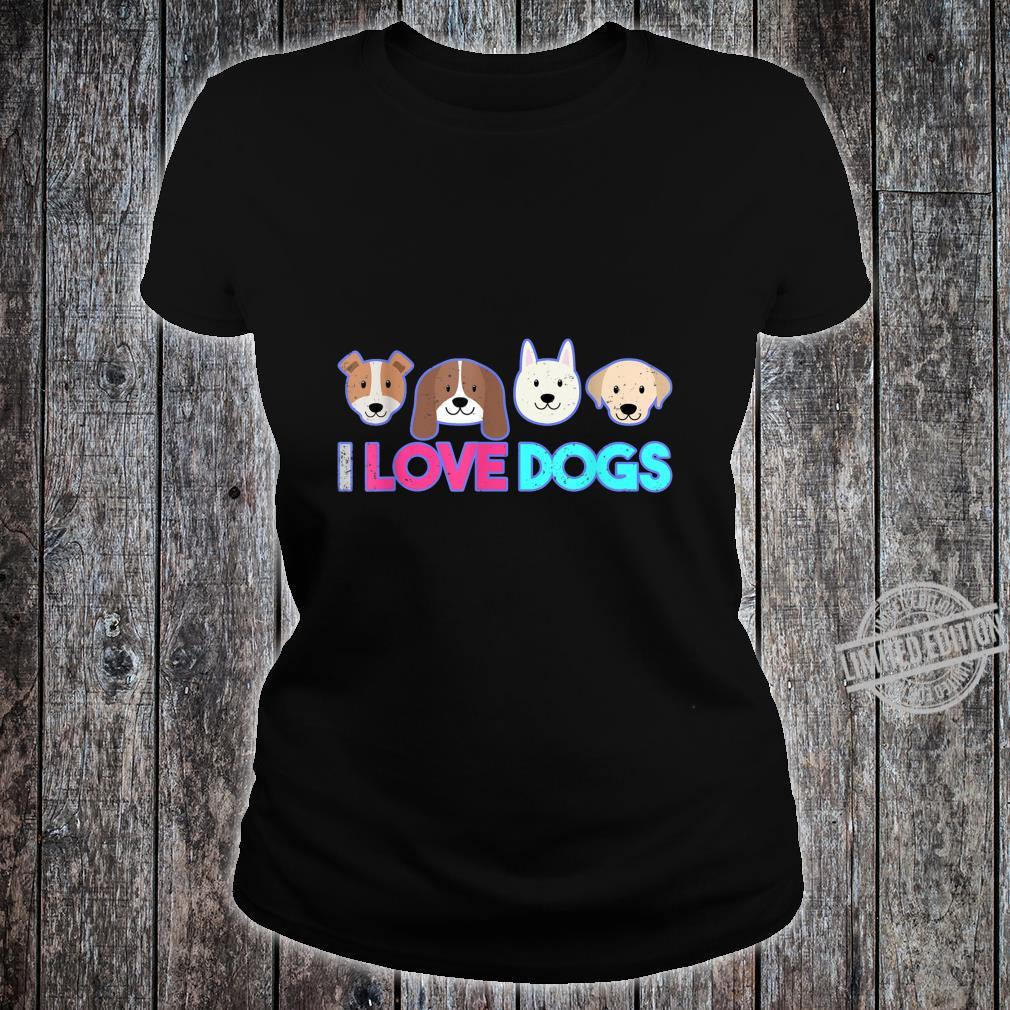 Animal Pet Owner Dogs Shirt ladies tee