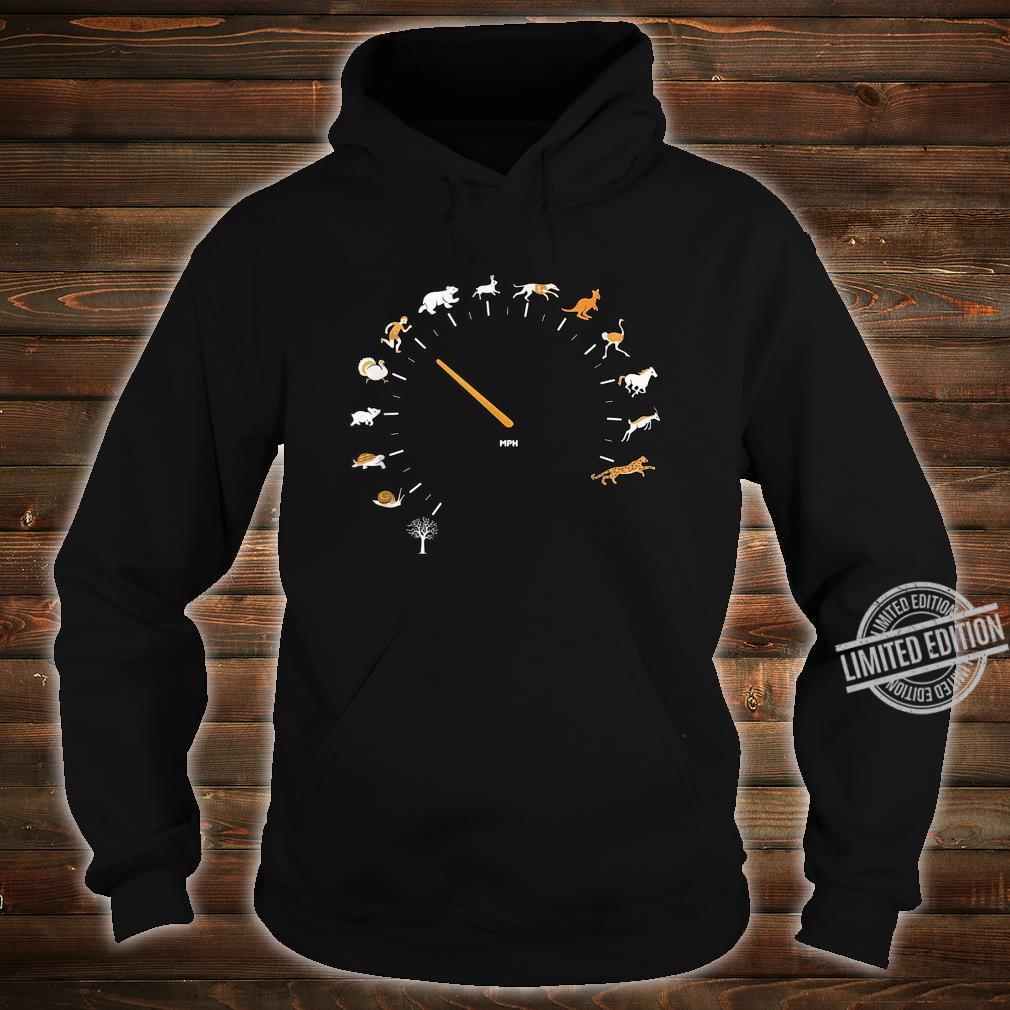 Animal Speedometer Cute Cartoon Nature Race Runner Shirt hoodie