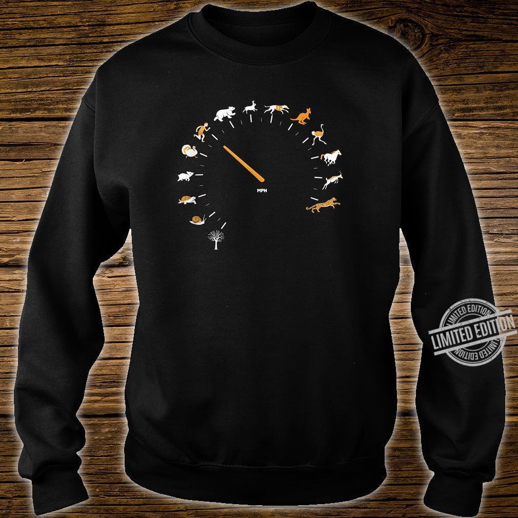 Animal Speedometer Cute Cartoon Nature Race Runner Shirt sweater