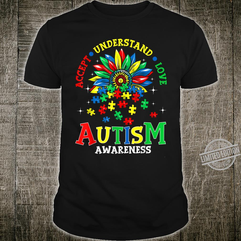 Autism Awareness Accept Understand Love Autism Mom Shirt