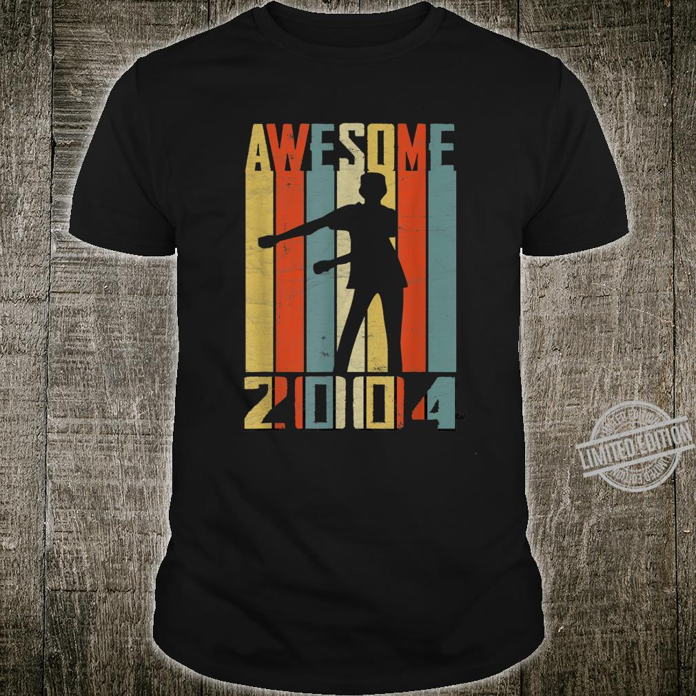 Awesome Since 2004 Vintage Floss Dance 16 Yrs Old Bday Boys Shirt