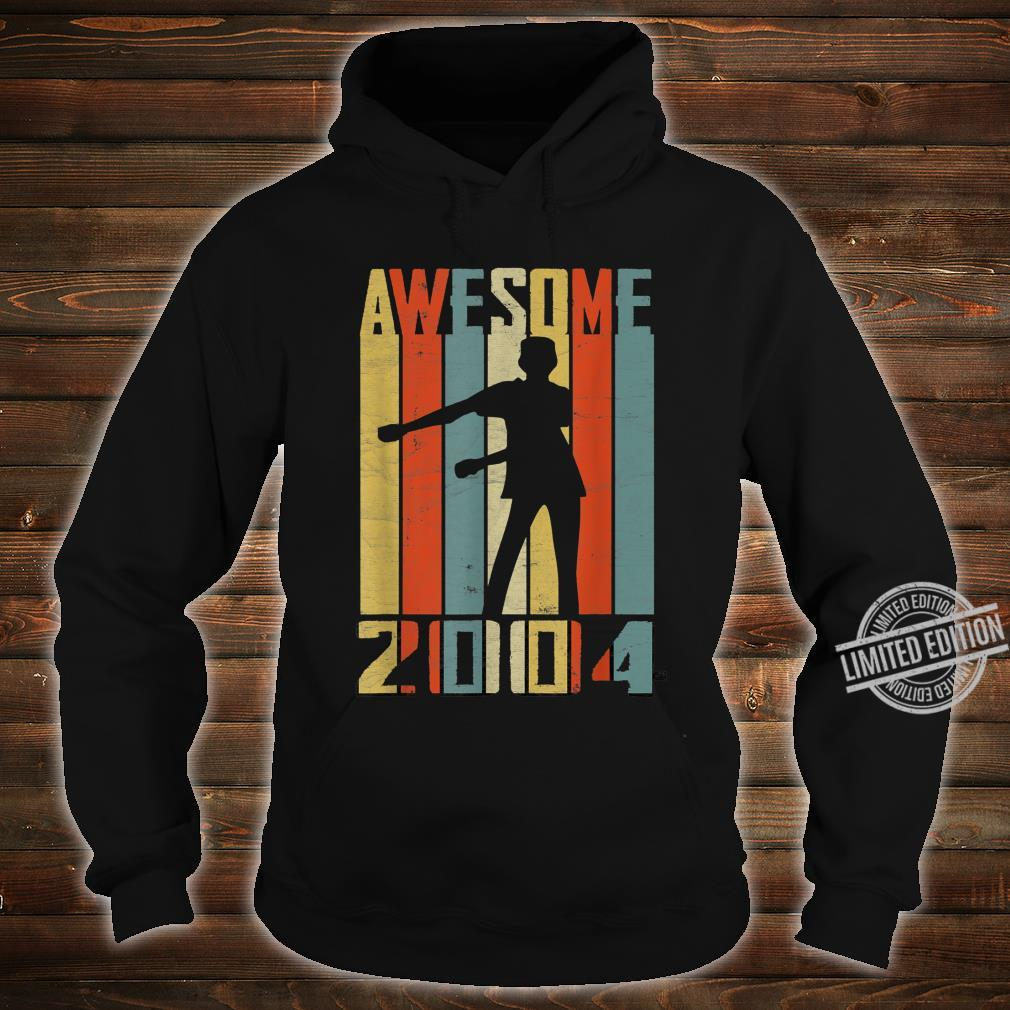 Awesome Since 2004 Vintage Floss Dance 16 Yrs Old Bday Boys Shirt hoodie