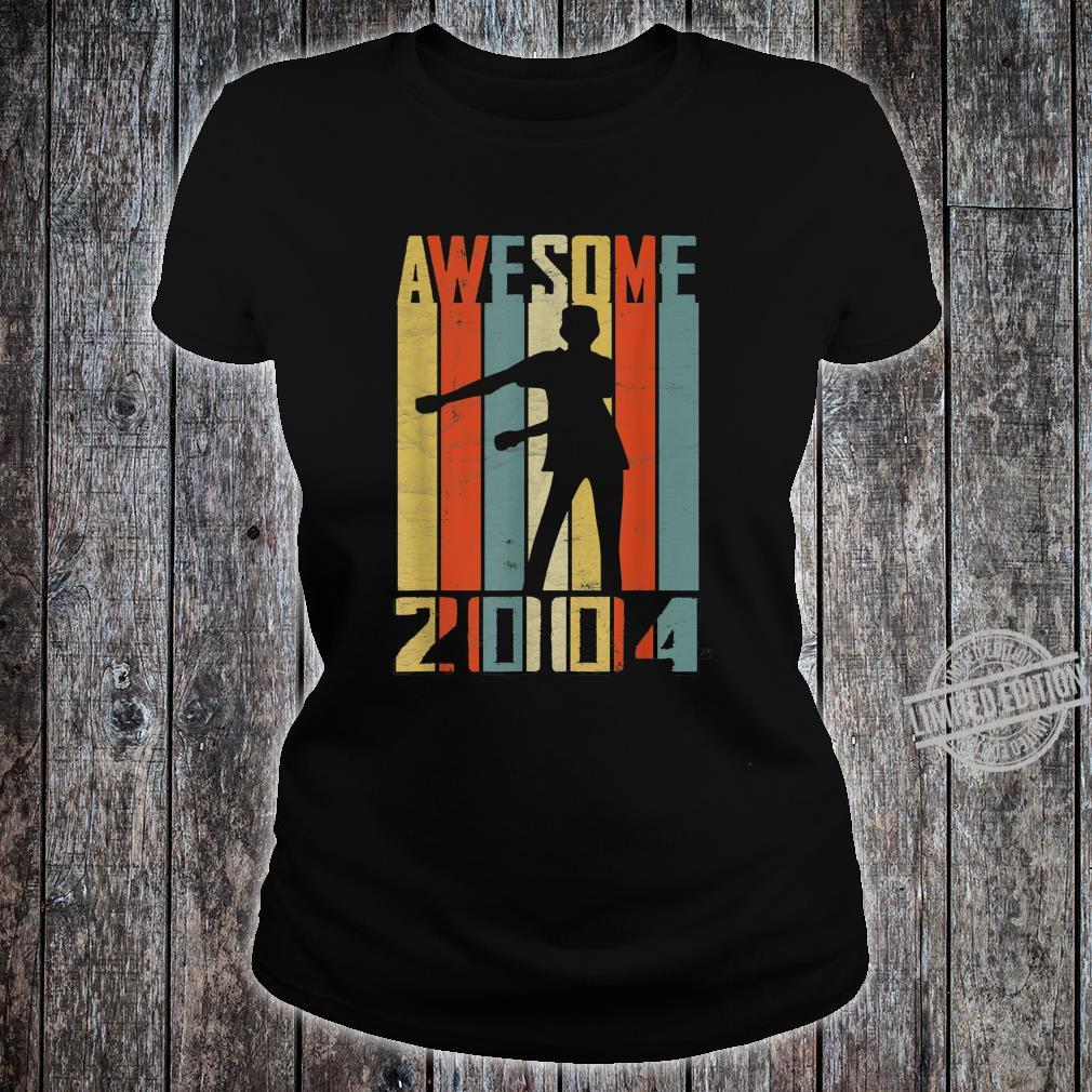 Awesome Since 2004 Vintage Floss Dance 16 Yrs Old Bday Boys Shirt ladies tee