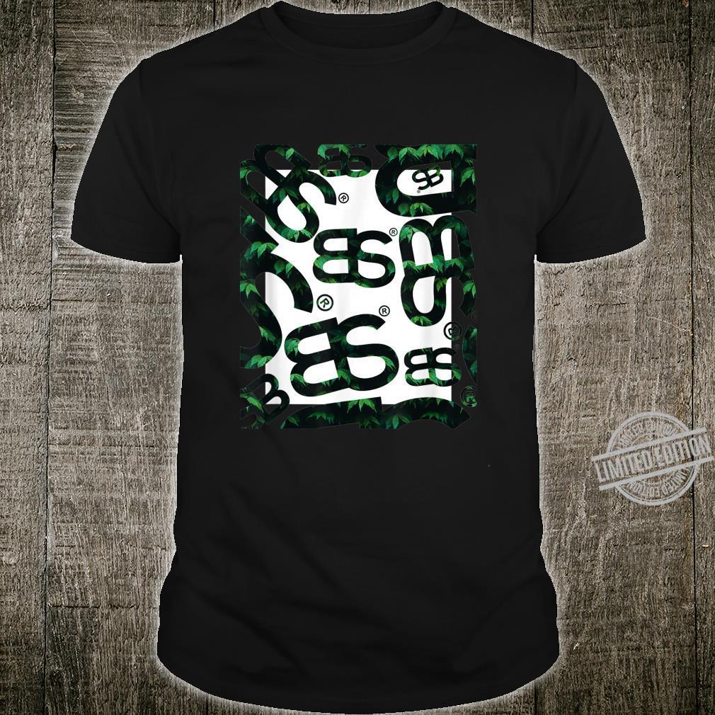BS Logo GrünSchwarz allover Design Shirt
