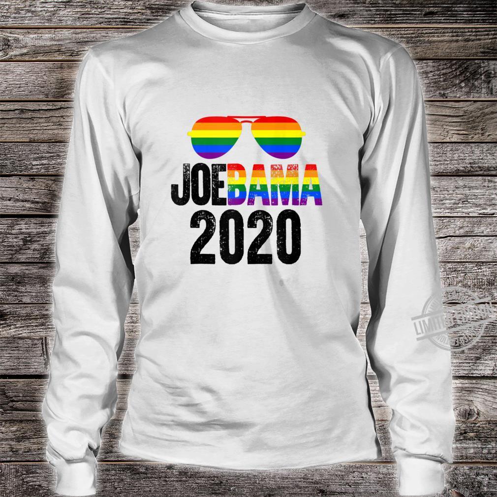 Barack Obama Joe Biden Shirt JoeBama 2020 Gay LGBT Fun Shirt long sleeved