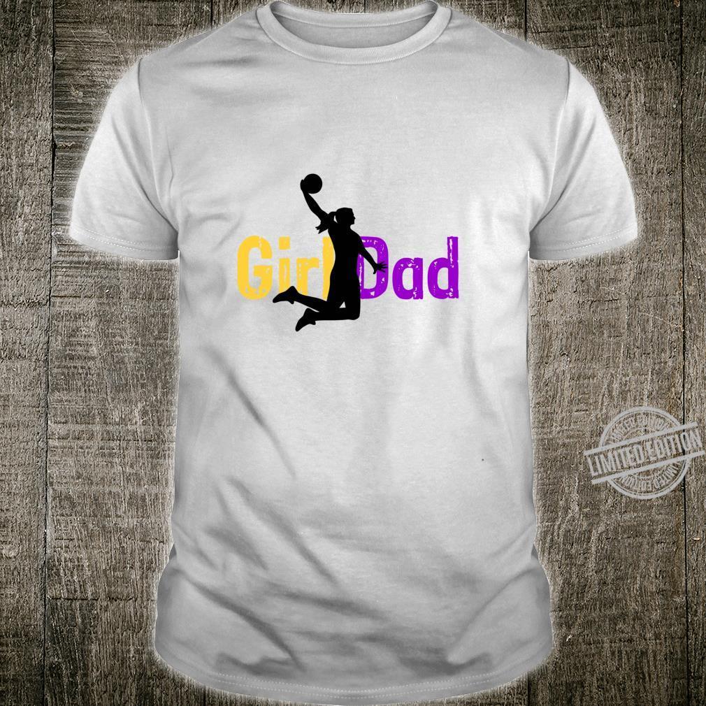 Basketball Dad of Girls Shirt
