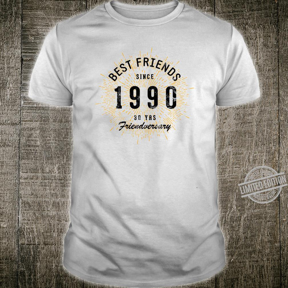 Best Friends Since 1990 30th Friendversary Shirt