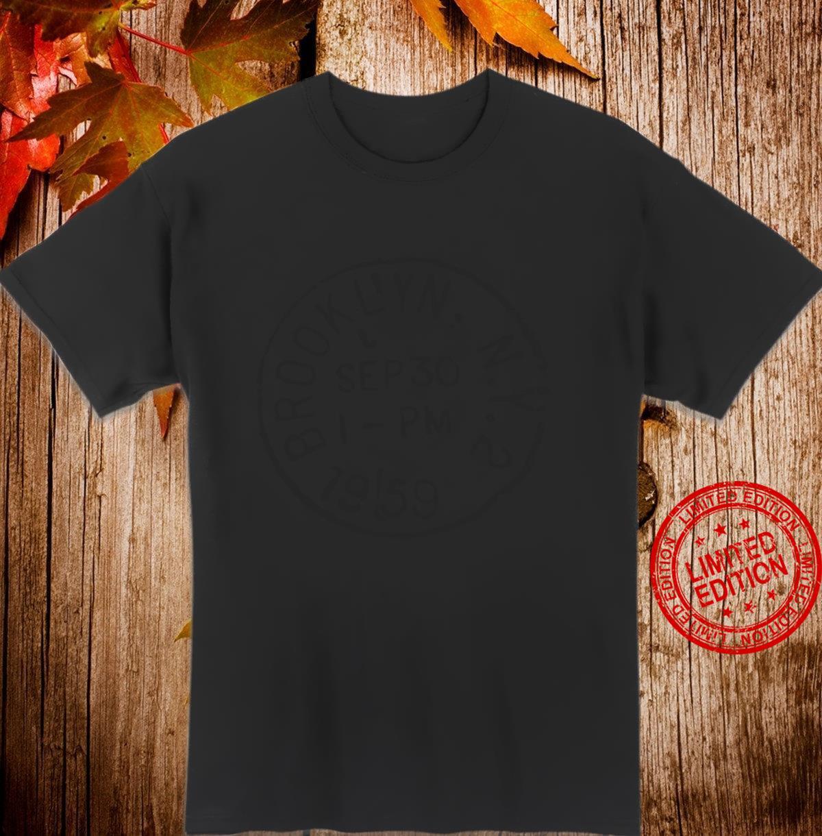 Brooklyn NY New York Langarmshirt Shirt