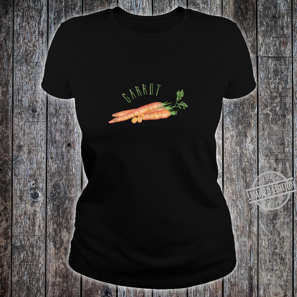 Carrot Shirt ladies tee
