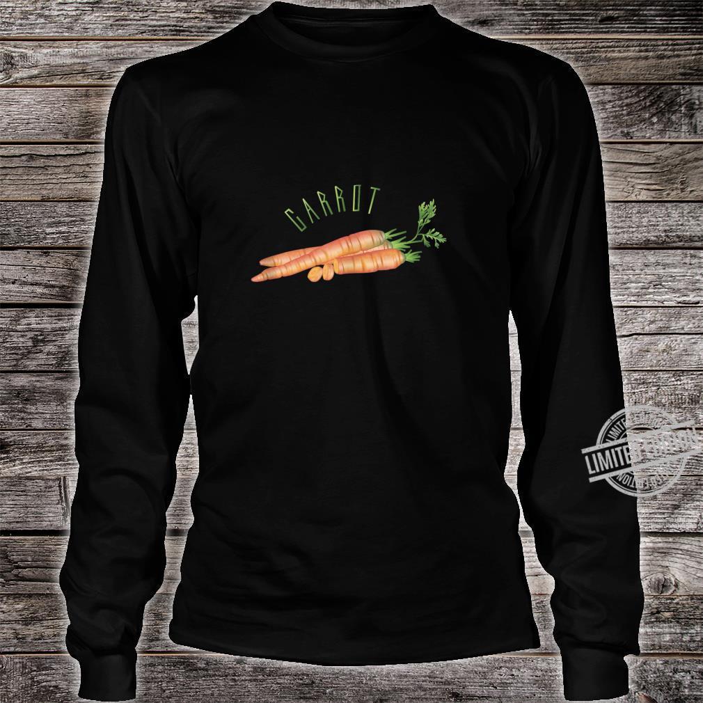 Carrot Shirt long sleeved