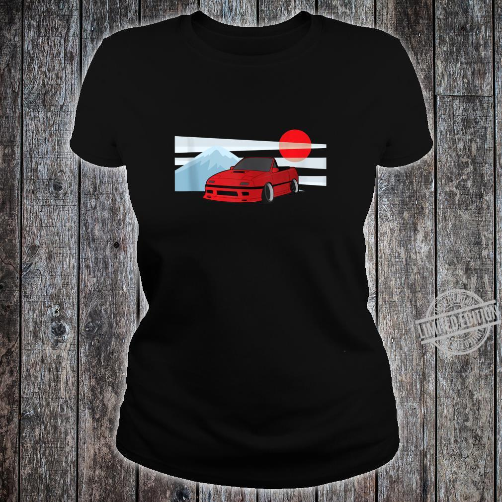 Cartoon JDM FC Rotary Shirt ladies tee