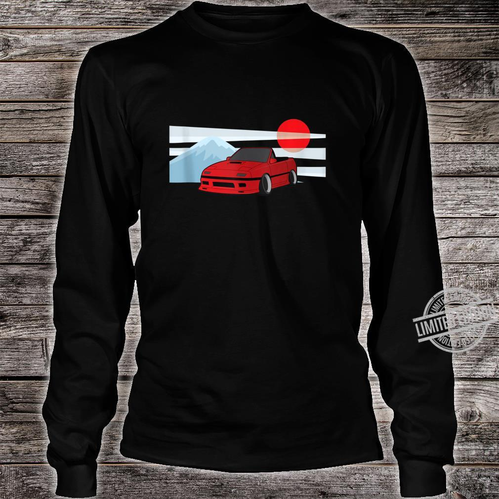 Cartoon JDM FC Rotary Shirt long sleeved