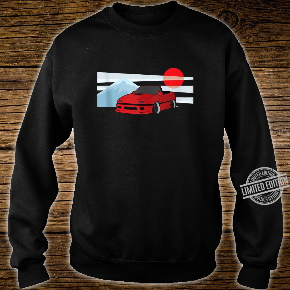 Cartoon JDM FC Rotary Shirt sweater