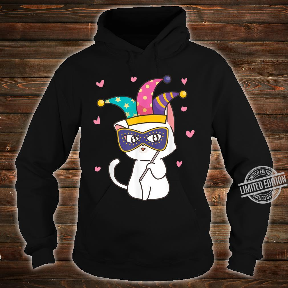 Cat Mardi Gras Shirt Fat Tuesday Shirt hoodie