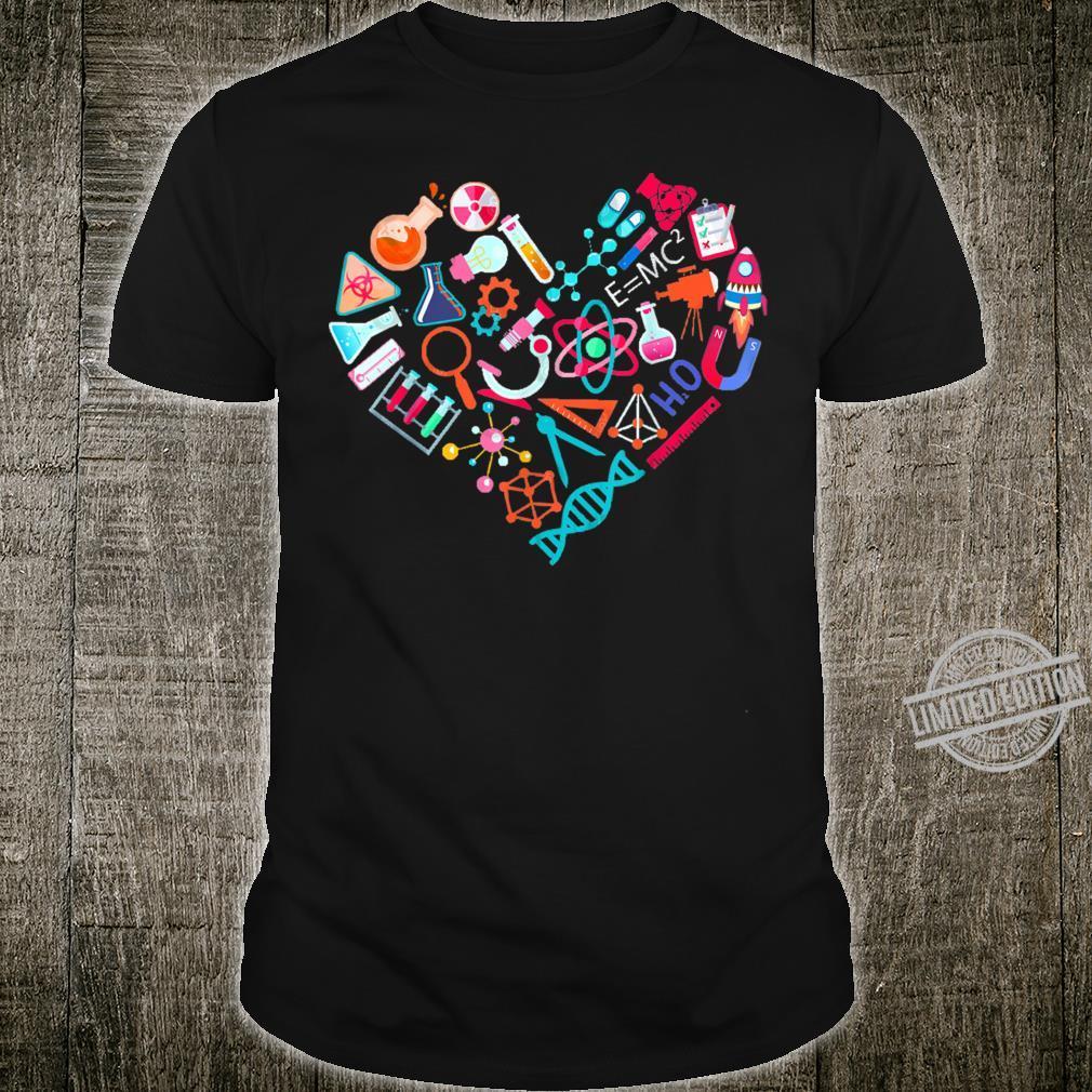 Chemistry Heart for Chemist Teacher or Student Shirt