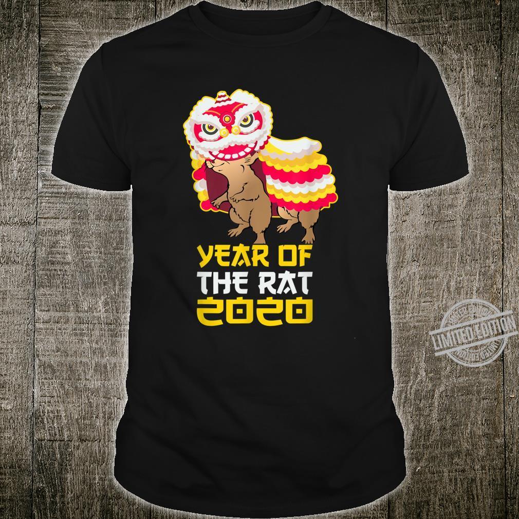 Chinese New Year 2020 Costume Year of the Rat Shirt