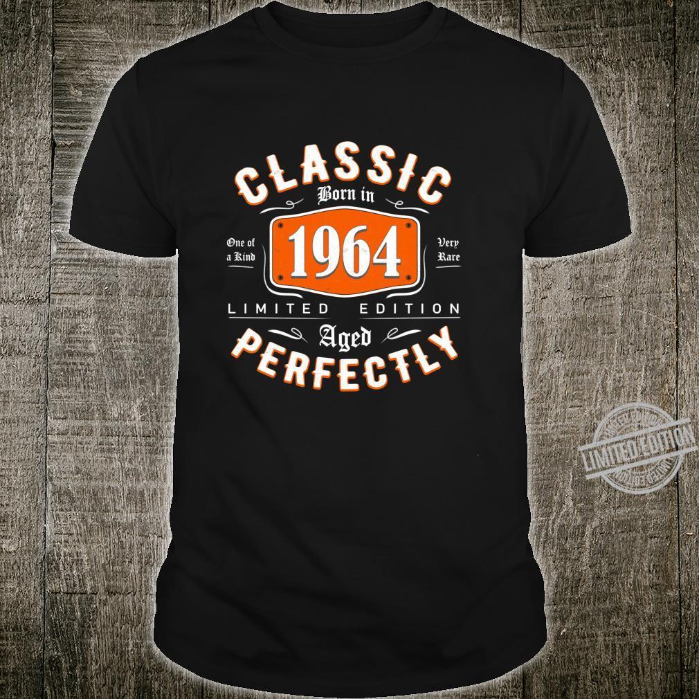 Classic Born in 1964 Birthday Idea 56 Years Old Shirt