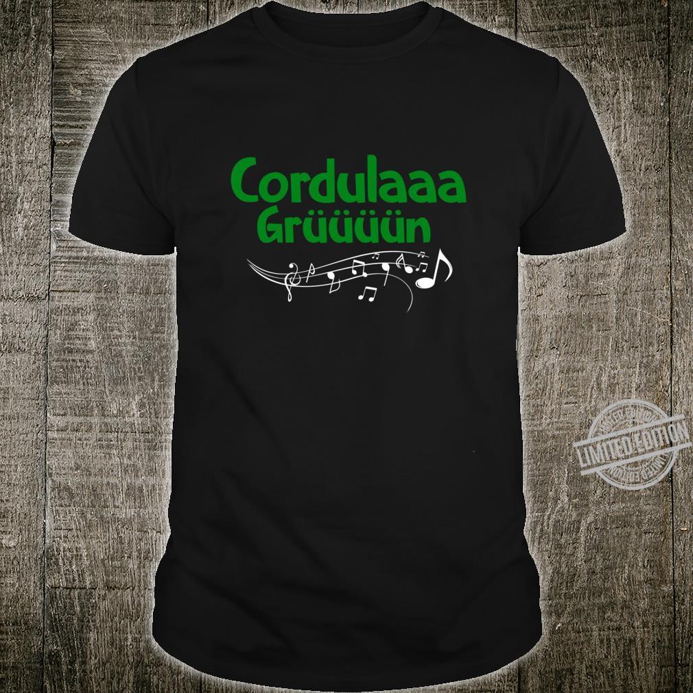 Cordula Grün Shirt, Eberhard Grün Geschenk Fun Party Shirt