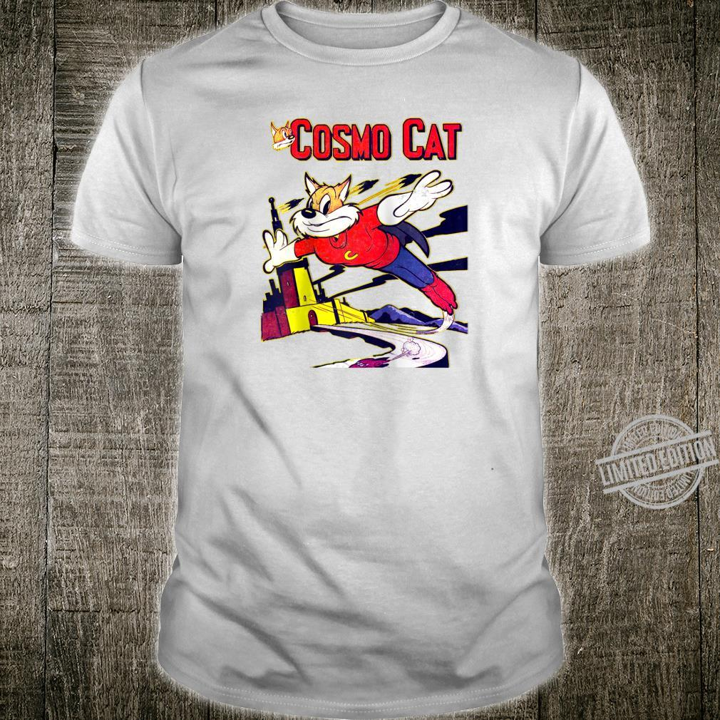 Cosmo Cat No.5 Vintage Comic Book Shirt