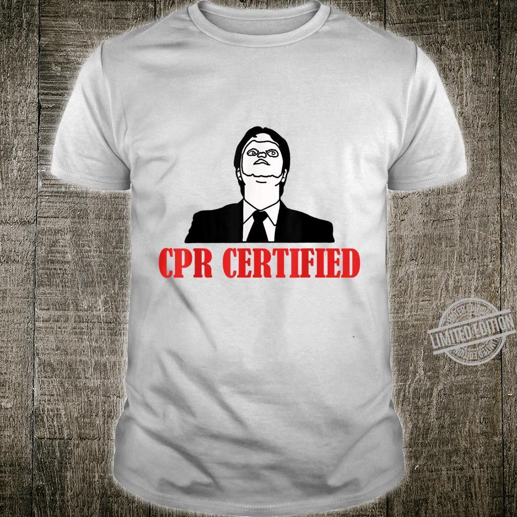 Cpr Certified Shirt