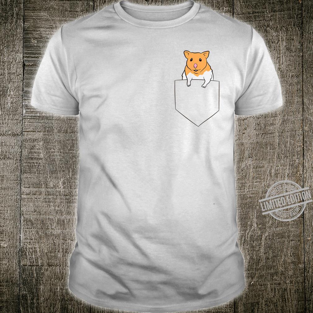 Cute Hamster In Pocket Pocket Hamster Shirt