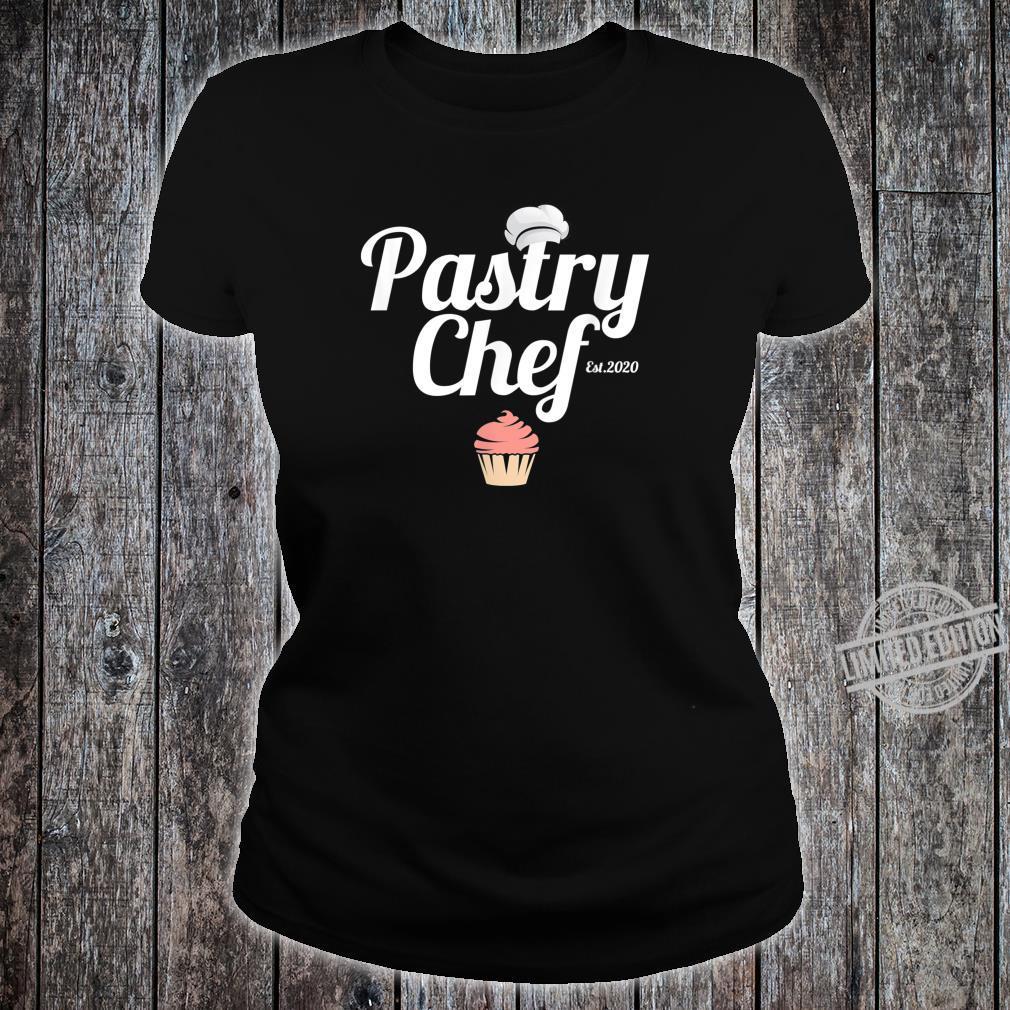 Cute Pastry Chef Shirt ladies tee