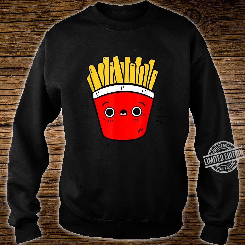 Cute Pommes Fries Lustiges Pommes Design Für Foodies Shirt sweater
