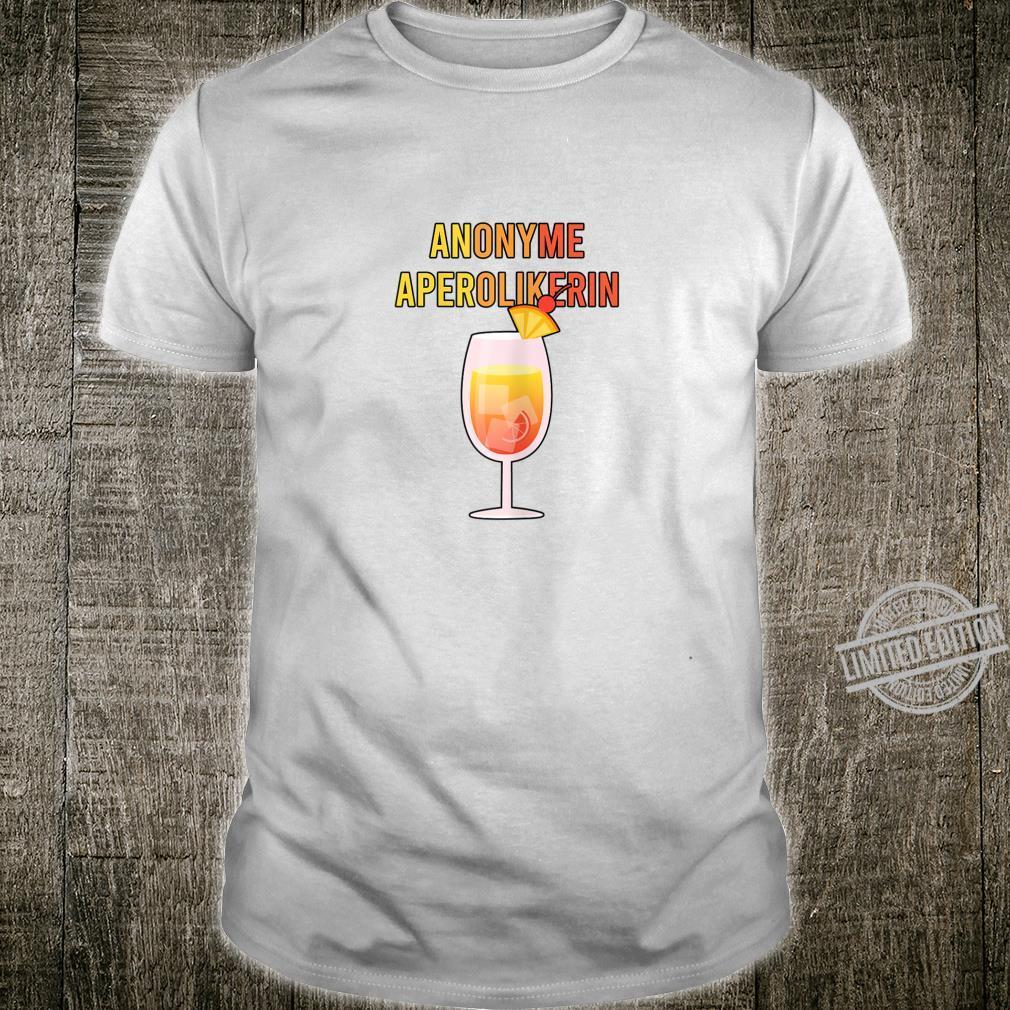 Damen Aperol Anonyme Aperolikerin Spritz Shirt