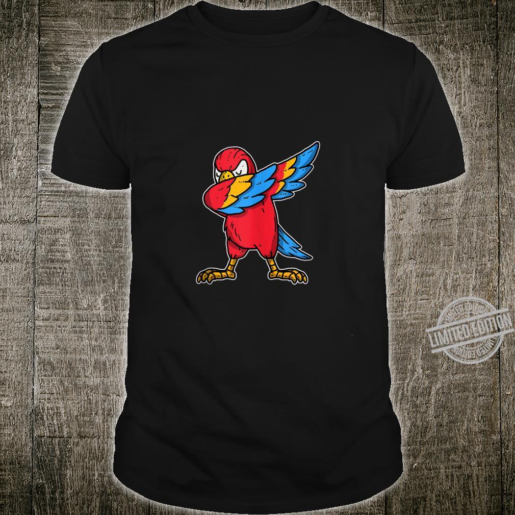 Funny Dabbing Parrot Dab Dance Cockatoo Bird Shirt