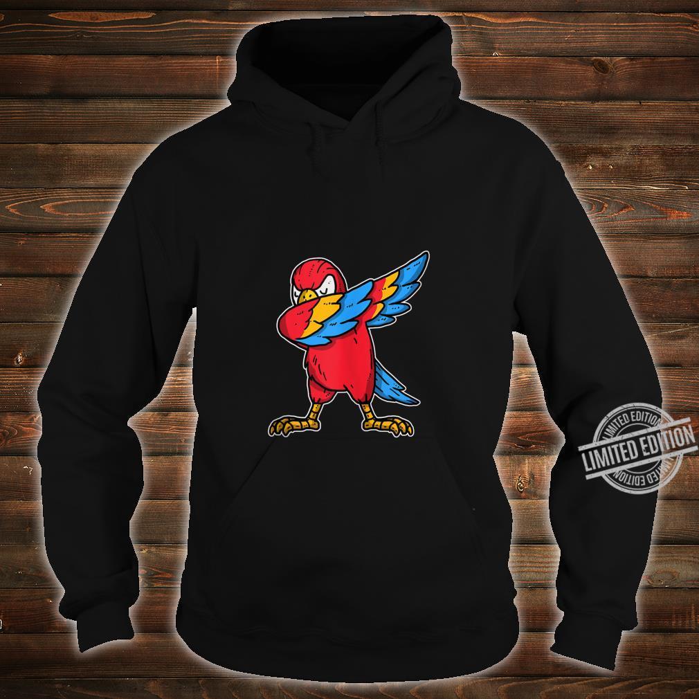 Funny Dabbing Parrot Dab Dance Cockatoo Bird Shirt hoodie