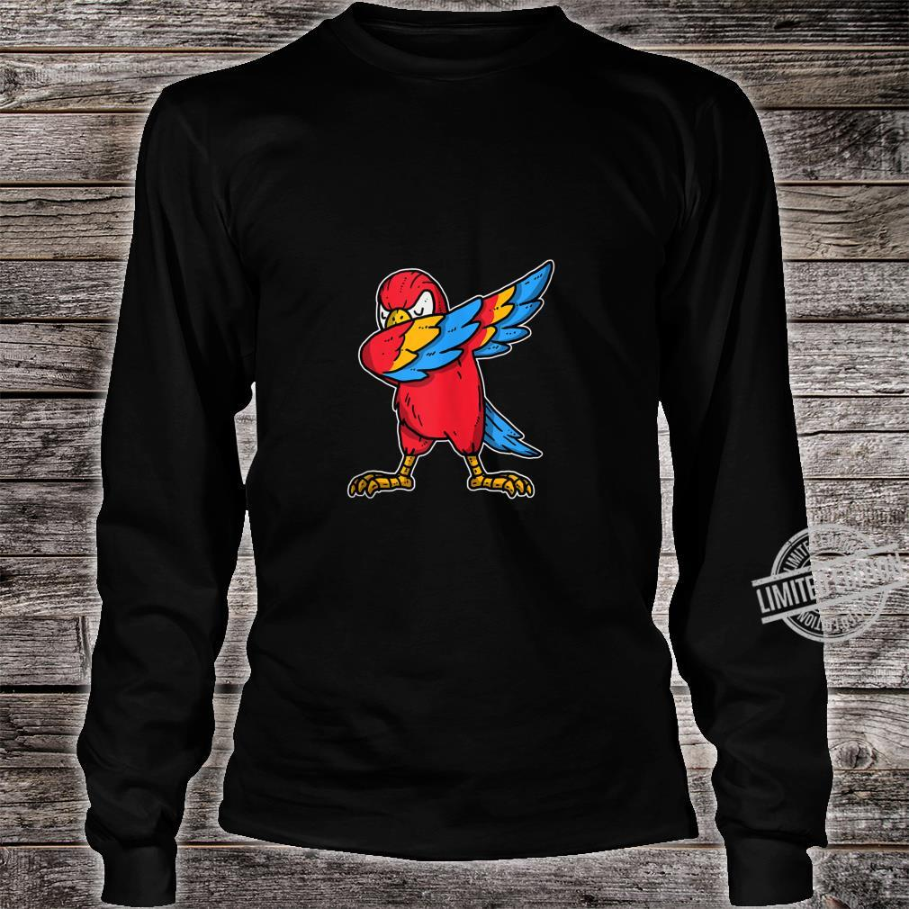 Funny Dabbing Parrot Dab Dance Cockatoo Bird Shirt long sleeved