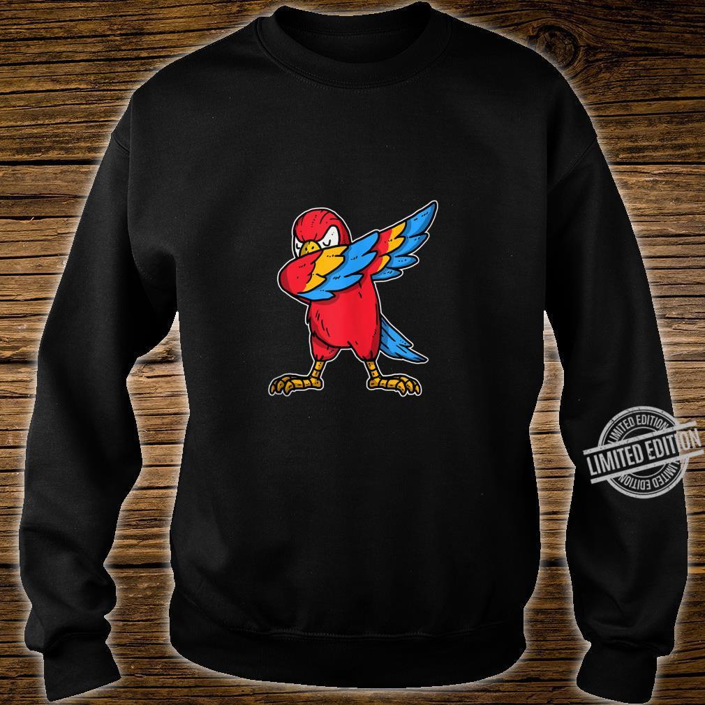 Funny Dabbing Parrot Dab Dance Cockatoo Bird Shirt sweater