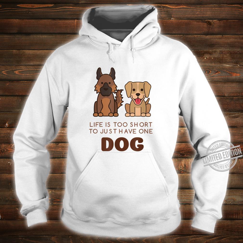German Shepherd Labrador Cute Dog Shirt hoodie