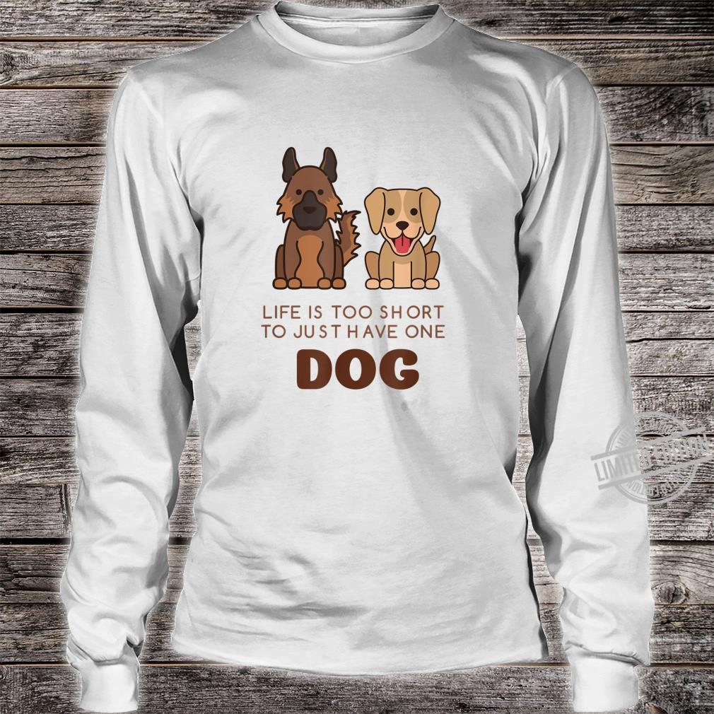 German Shepherd Labrador Cute Dog Shirt long sleeved