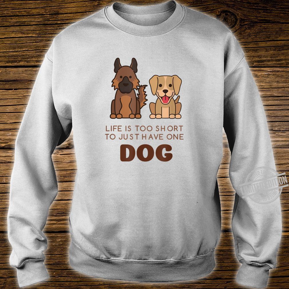 German Shepherd Labrador Cute Dog Shirt sweater