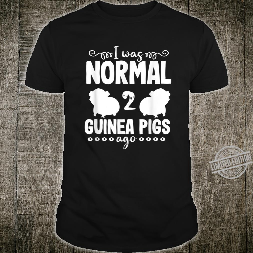 Guinea Pig Mom Dad Animal Normal Pet Owner Shirt