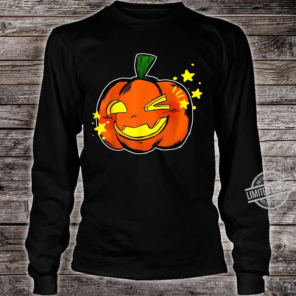 Halloween Pumpkin Trick or Treat Sweet Shirt long sleeved