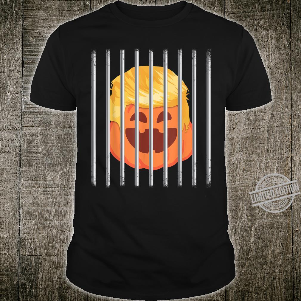 Halloween Trumpkin Trump Baby Jail Impeach Prison Shirt