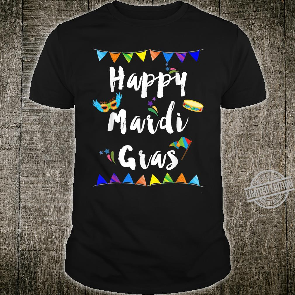 Happy Mardi Gras Shirt
